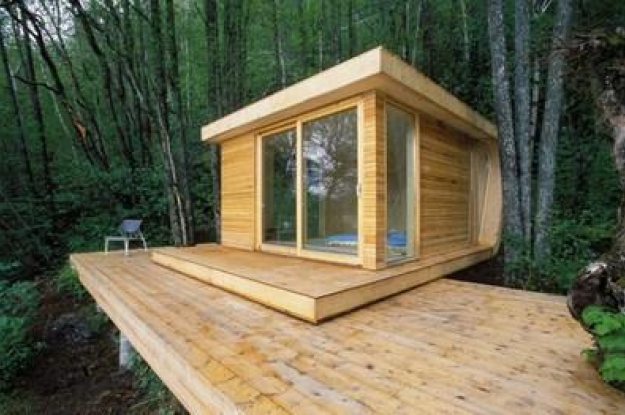 Casas de madera prefabricadas en noruega for Small house design made of wood