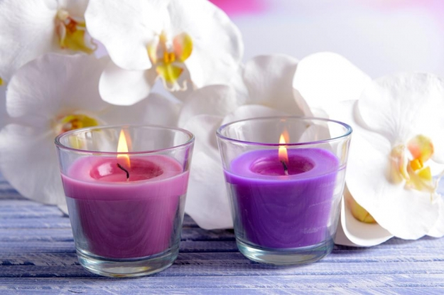 Decoración con velas